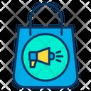 Bag Shopping Bag Bag Advertisement Icon