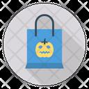 Bag Pumpkin Scary Icon