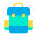 Backpack Camping Hike Bag Icon