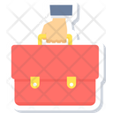 Bag Icon in Sticker Style