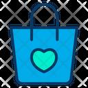 Wedding Shopping Shopping Shopping Bag Icon