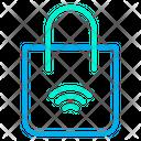 Smart Bag Smart Handbag Smart Shopping Bag Icon