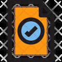 Bag Shopping File Invoice Icon