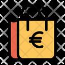 Bag Euro Shop Icon