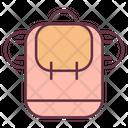 Bag Adventure Backpacker Icon