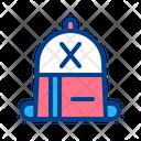 Bag Education Study Icon