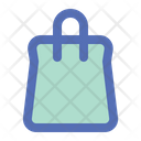 Bag Online Shopping Icon