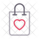 Bag Shopping Love Icon
