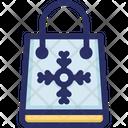 Bag Shopping Snowflake Icon