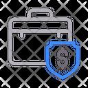 Bag Briefcase Shield Icon