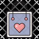 Bag Favorite Shopping Icon