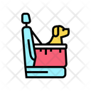 Bag Dog Transportation Icon