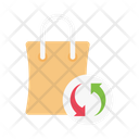 Bag Cart Revert Icon