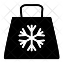 Bag Price Tag Snow Flake Icon