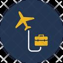 Bag Business Tour Business Traveler Icon