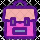 Bag School Bag Breifcase Icon