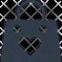 Bag Hangout Heart Icon