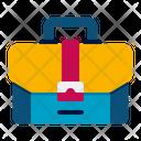 Bag Portfolio Suitcase Icon