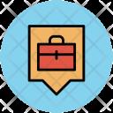 Bag Luggage Location Icon