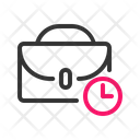 Outline Time Icon