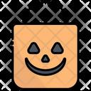 Bag Halloween Pumpkin Icon
