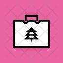 Bag Shopping Winter Icon