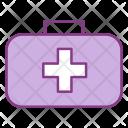 Bag Camping Medcine Icon