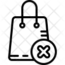 Bag Basket Cancel Icon