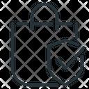 Purchase Protection Customer Protection Bag Icon