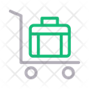 Dolly Briefcase Bag Icon