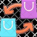 Bag Exchange Icon