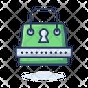 Bag Lock Shopping Bag Lock Briefcase Lock Icon
