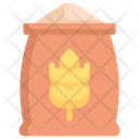 Bag Of Grain Wheat Bag Sack Icon
