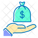Bag Of Money Money Sack Money Bag Icon