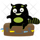 Black Monster Icon