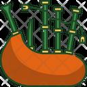 Bag Pipes Ireland St Patricks Day Icon
