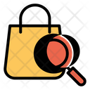 Search Bag Handbag Icon