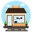 Bag Store Luggage Sale Purse Shop Icon