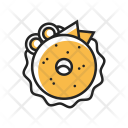 Bagel Food Icon