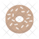 Bagel Breakfast Donut Icon