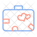Baggage Luggage Honeymoon Icon