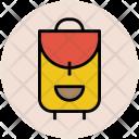 Baggage School Bag Icon