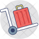 Baggage Hand Truck Icon