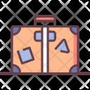 Baggage Service Suitcase Icon