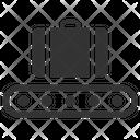 Baggage Carousel Baggage Check Baggage Claim Icon