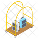 Baggage Cart Icon