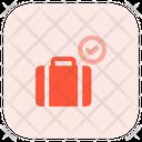Baggage Check Baggage Carousel Baggage Claim Icon