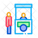 Baggage counter Icon