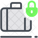 Baggage Lock Bag Icon