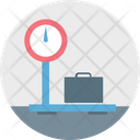 Baggage Scale Icon